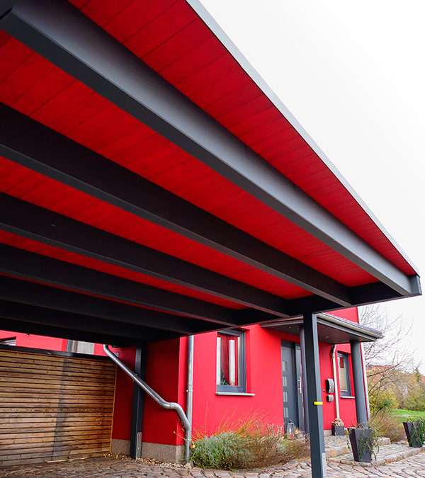 Designer Doppel Carport