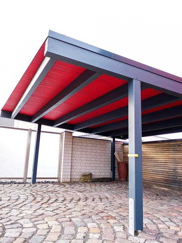 Designer Doppel Carport - Tischlerei Sven Alsleben